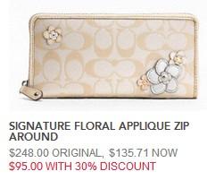 flower wallet 95