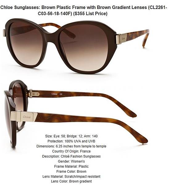 882851164205_Chloe_Sunglasses__Brown_Plastic_Frame_with_Brown_Gradient_Lenses_CL2261-C03-56-18-140F