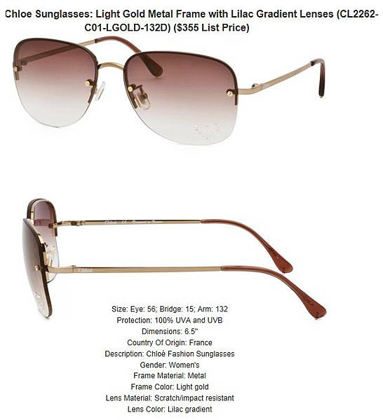 882851180205_Chloe_Sunglasses__Light_Gold_Metal_Frame_with_Lilac_Gradient_Lenses_CL2262-C01-LGOLD-132D