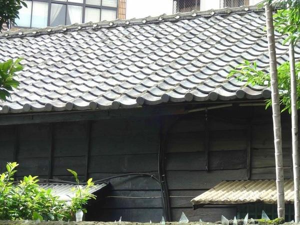 屋頂如魚鱗,屋脊如魚éª