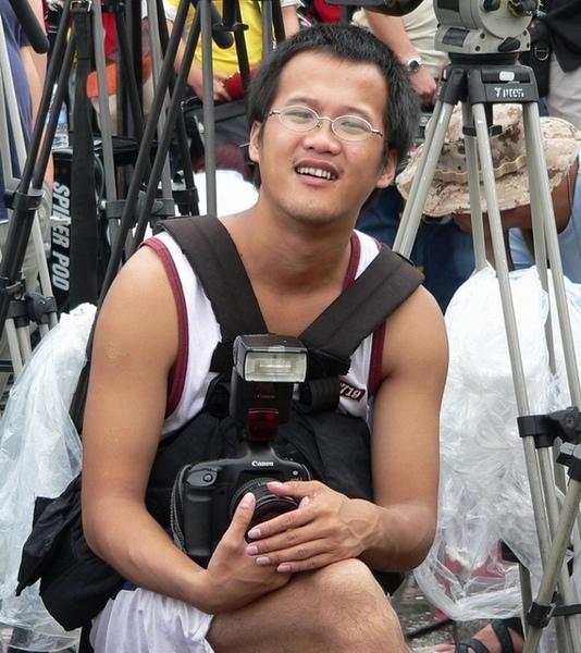 年輕攝影朋友