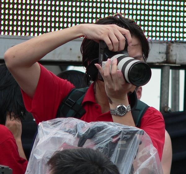 紅衣攝影朋友