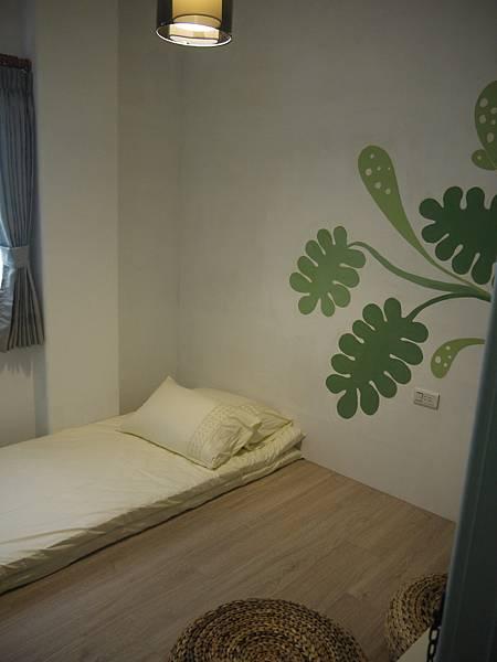 龜貝芋與床鋪