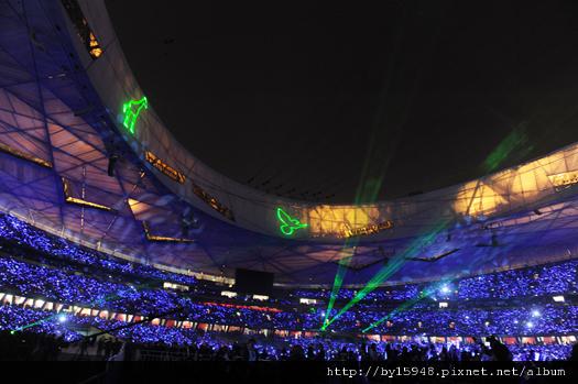 北京鳥巢終極版壯闊落幕 1221、22高雄挑戰台灣十萬奇蹟04