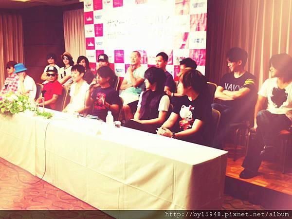2012-08-20 11'21 認真的男人最帥氣2012 SUMMER SONIC台灣代表樂團出席記者會