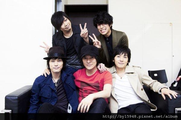 2013-01-09 flumpool開口秀中文 3月2日台北開個唱