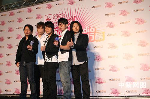 中國TOP排行榜頒獎 五月天獲港台最佳唱片2.jpg