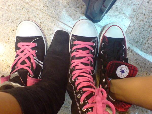 哪隻是我的鞋子 :P