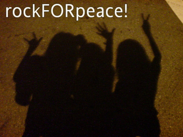 rockFORpeace!