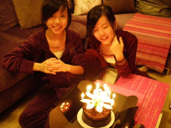 今年生日在台灣過:D