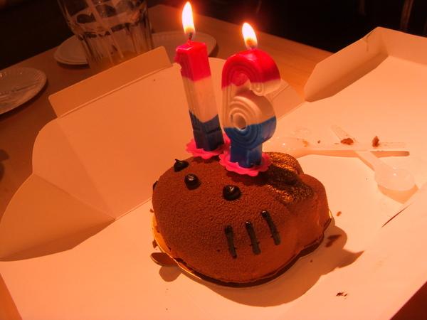 Kitty生日蛋糕