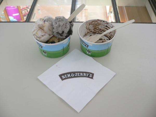 Ben & Jerry Ice Cream!!