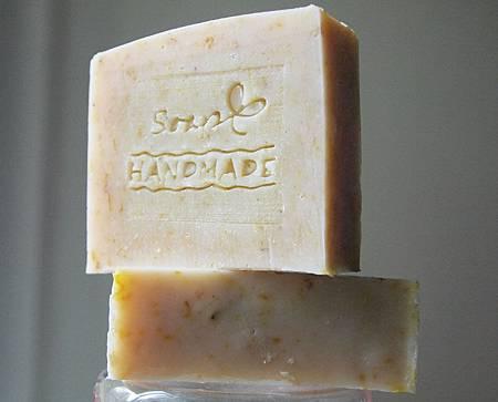 金盞花蘆薈馬賽皂---方形皂