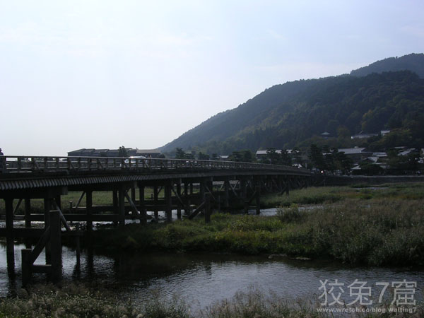 嵐山渡月橋與桂川