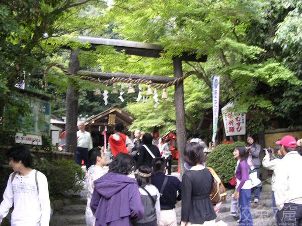 人力車終點站(野宮神社)