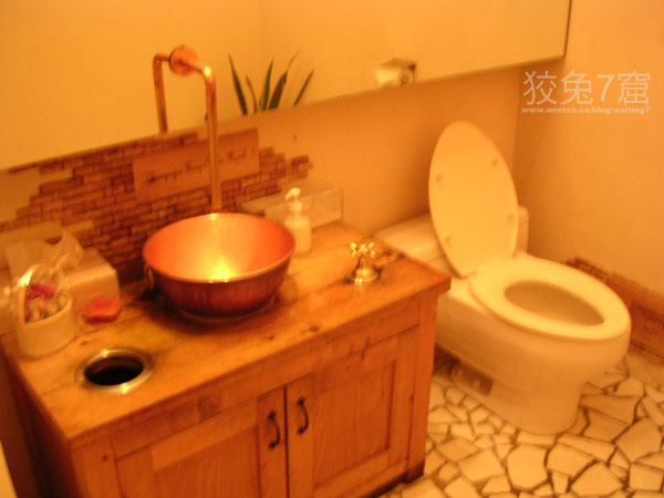 餐廳裡的廁所-1