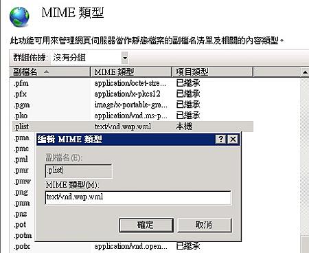 MIME_PLIST