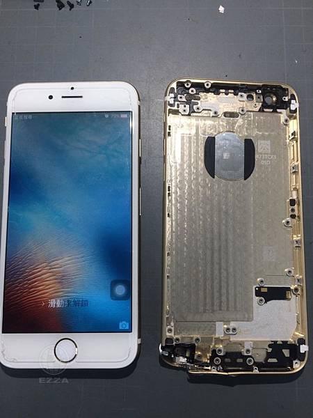 IPHONE6背蓋擠壓變形
