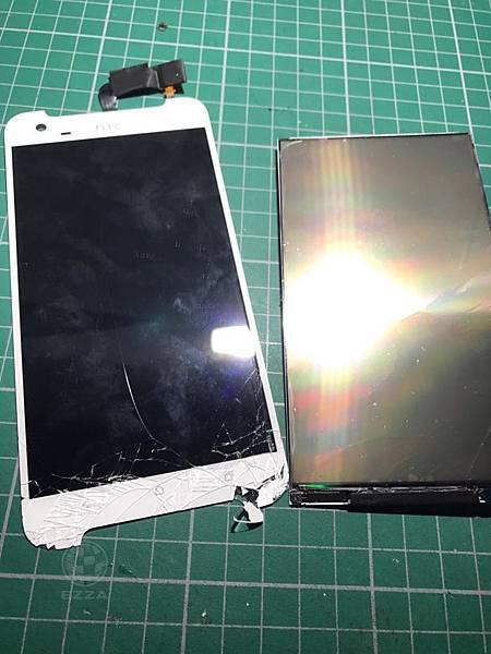 HTC X9液晶分離