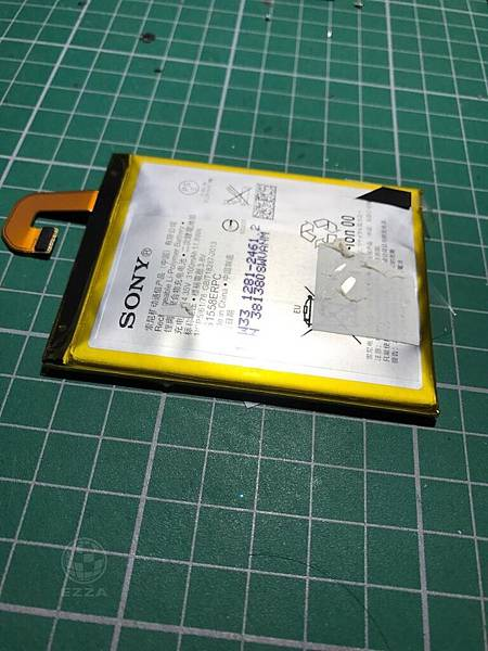z3電池膨脹