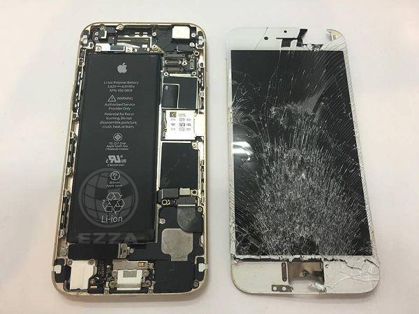 iphone6面板破裂3