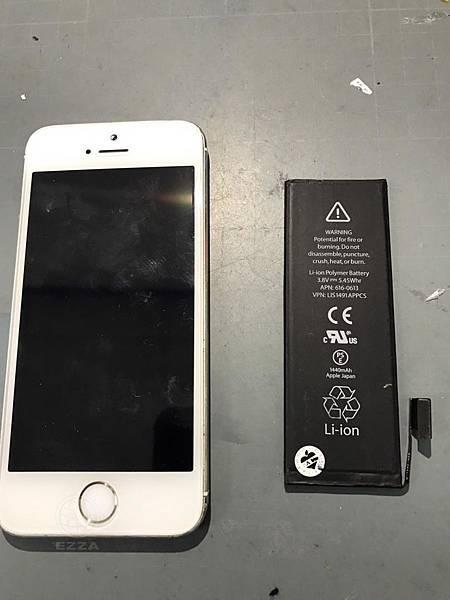 IPHONE 5S自行換電池