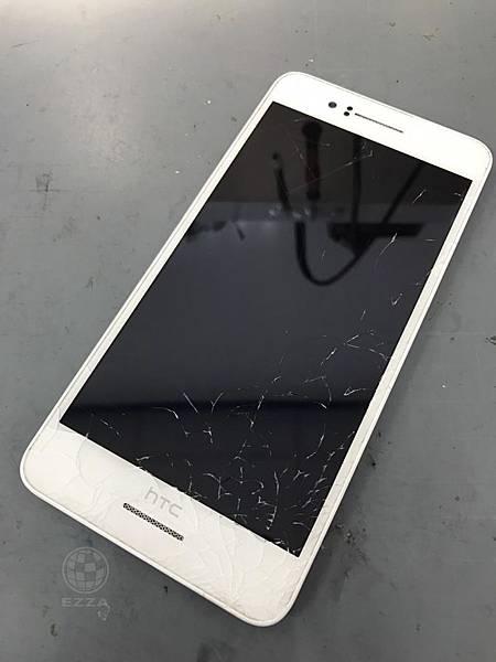 HTC 728面板破裂