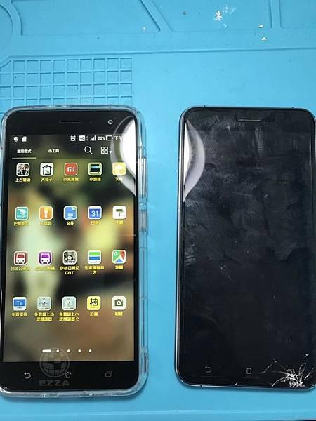 ZenFone 3不小心摔破