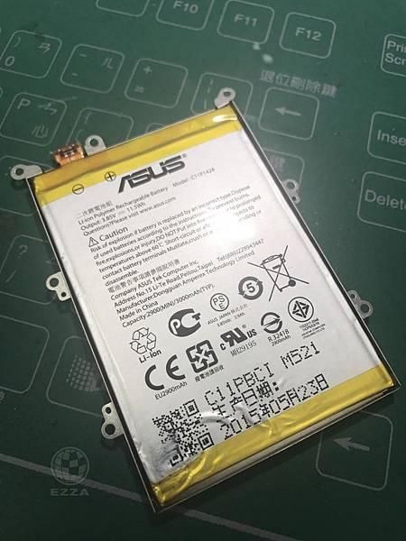 ZENFONE5更換電池