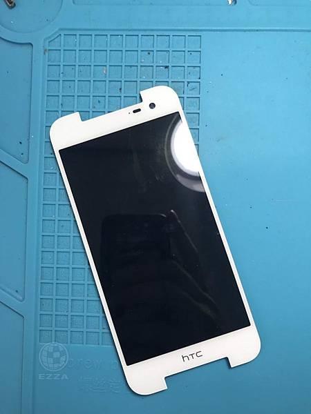 HTC 蝴蝶2液晶破裂