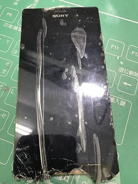 Z3更換面板