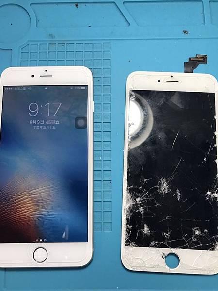 IPHONE 6面板全毀了
