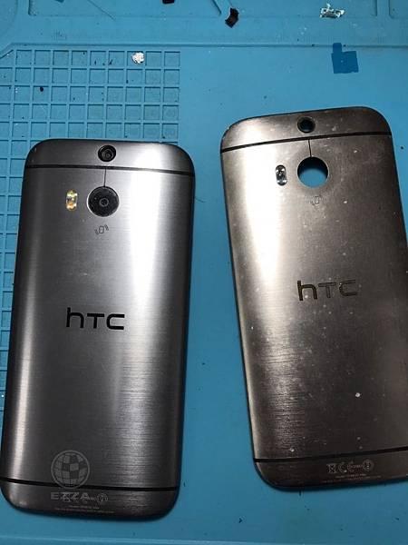 HTC M8背蓋舊換新