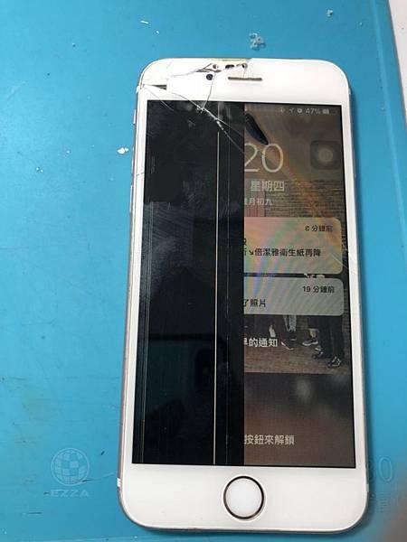 IPHONE 6S摔慘慘
