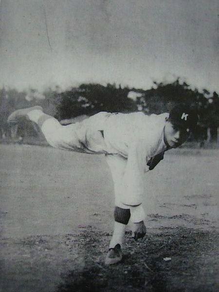 11httpwww.hi-on.org.twbulletins.jspb_ID=124029 吳明捷(1911-1983)是嘉義農林棒球隊第一代的王牌投手兼第四棒。出身台灣苗栗,綽號「怪腕」、「麒麟子」。.jpg
