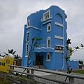 海藍色的民宿