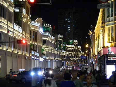 廈門市的中華城夜景