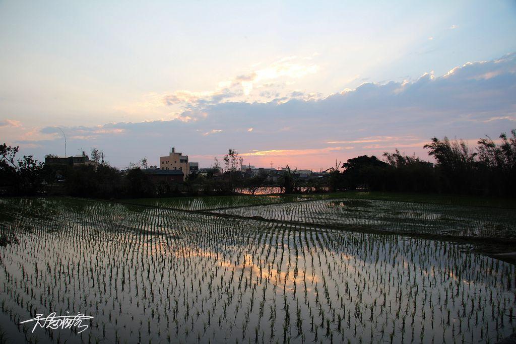 望幽谷夕陽美景
