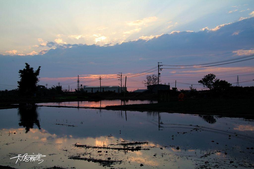 忘憂谷夕陽美景