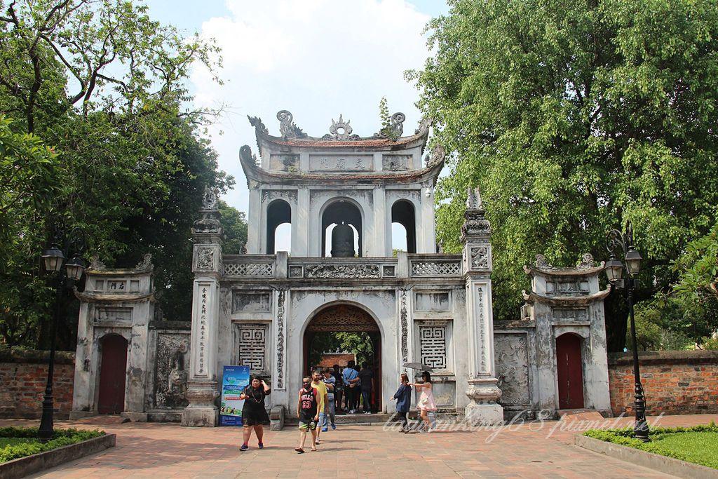 北越河內的文廟