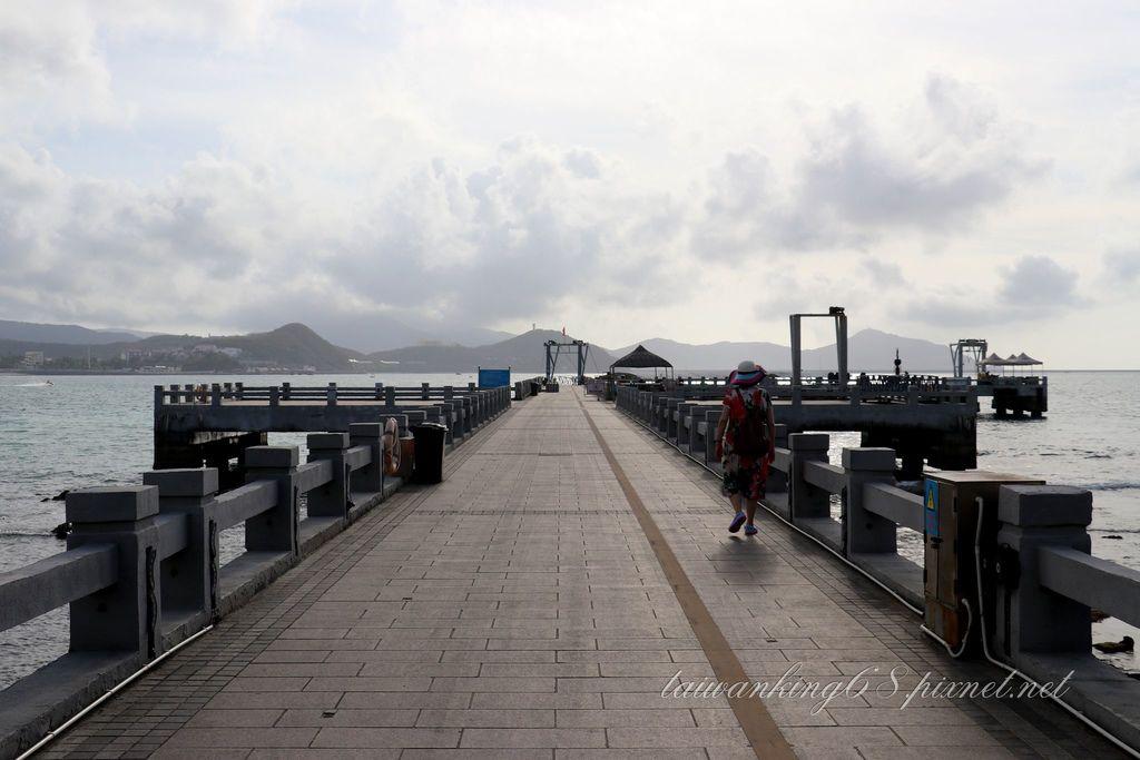 海南島之旅-大東海潛水遊樂區