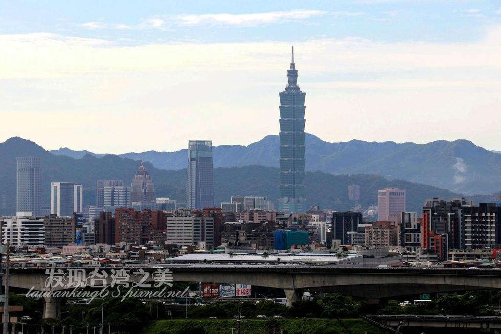 台北圓山飯店遠眺101