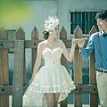 南投婚紗禮服新人