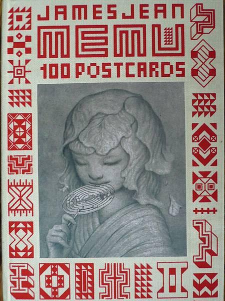 james jean - menu postcards