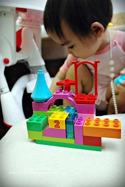 LEGO樂高─duplo 得寶系列─10571 多合一粉紅樂趣箱-226
