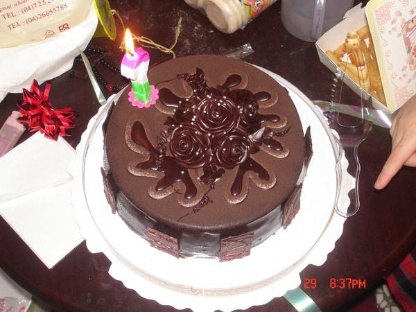 媽媽的生日蛋糕