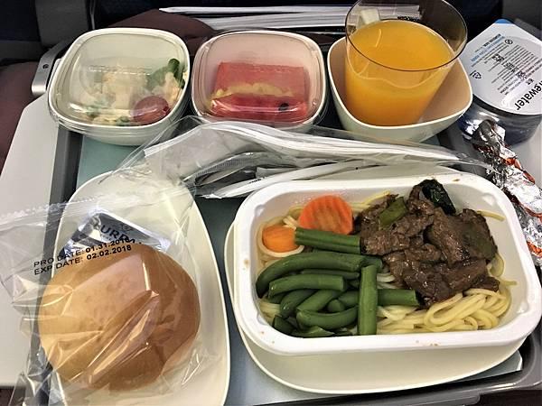 去程飛機餐.JPG