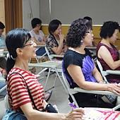 1010627志工訪張老師&餐會後開志工會議