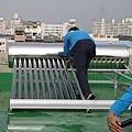太陽能真空管-施工