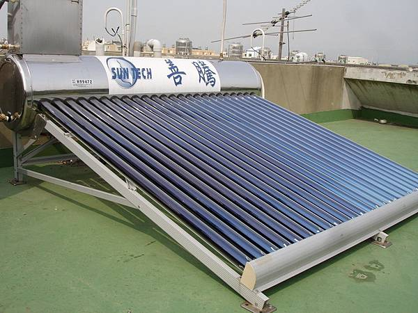 太陽能真空管-完工圖